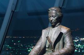 土方歳三のブロンズ像